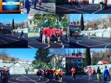 Товарищеский матч между командами лицея 3 и гимназии 5