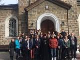 15 февраля в День православной молодежи лицеисты посетили Божественную Литургию в Храме преображения Господне.